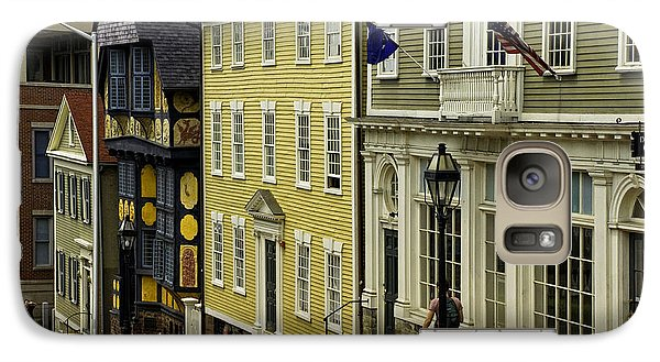 Galaxy Case featuring the photograph Historic Street In Providence Ri by Nancy De Flon
