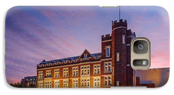 Marquette Galaxy S7 Case - Historic Thomas Hall At Loyola University - New Orleans Louisiana by Silvio Ligutti