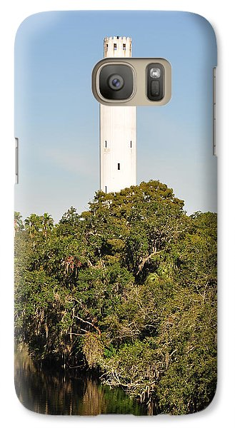 Galaxy Case featuring the photograph Historic Water Tower - Sulphur Springs Florida by John Black