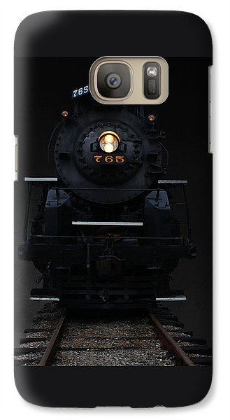 Galaxy Case featuring the photograph Historical 765 Steam Engine by Rowana Ray