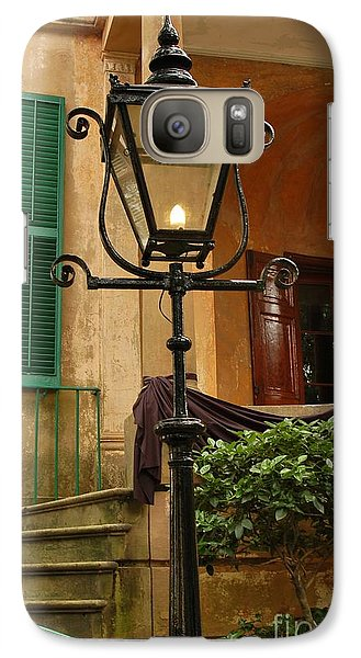 Galaxy Case featuring the photograph Historical Gas Light by Patrick Shupert