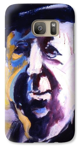 Galaxy Case featuring the painting Hitch by Les Leffingwell
