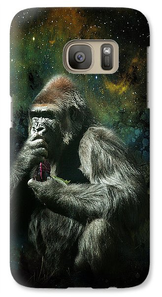 Galaxy Case featuring the photograph Hmmmm by James Bethanis
