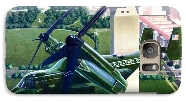 Galaxy Case featuring the painting Hmx-1 Mv-22 by Stephen Roberson