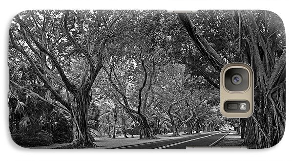 Galaxy Case featuring the photograph Hobe Sound Bridge Rd. West II by Larry Nieland