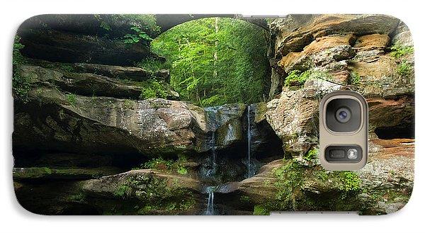 Hocking Hills Waterfall 1 Galaxy S7 Case