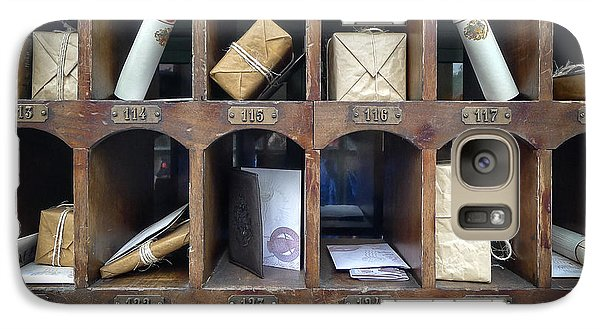 Hogsmeade Owl Post Office Galaxy Case by Edward Fielding