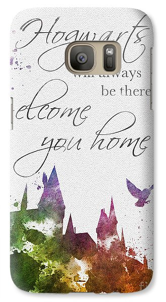 Hogwarts Will Welcome You Home Galaxy S7 Case