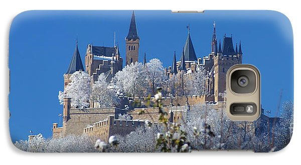 Galaxy Case featuring the photograph Hohenzollern Castle Germany by Rudi Prott