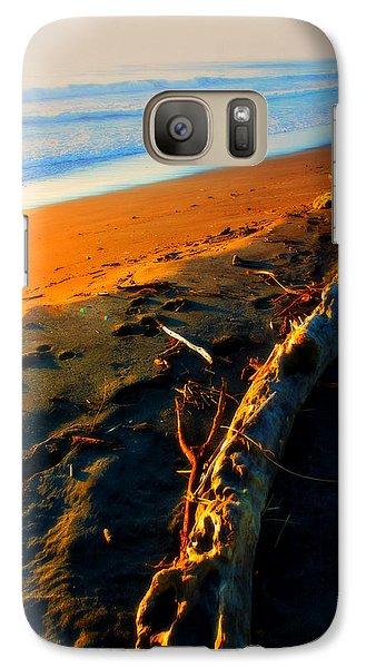 Galaxy Case featuring the photograph Hokitika Beach New Zealand by Amanda Stadther