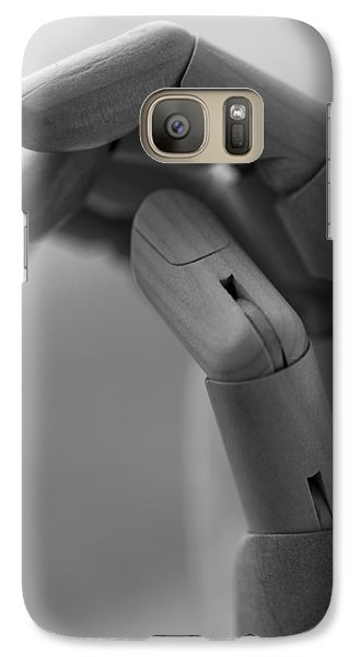 Galaxy Case featuring the photograph Hold On by Andrew Pacheco