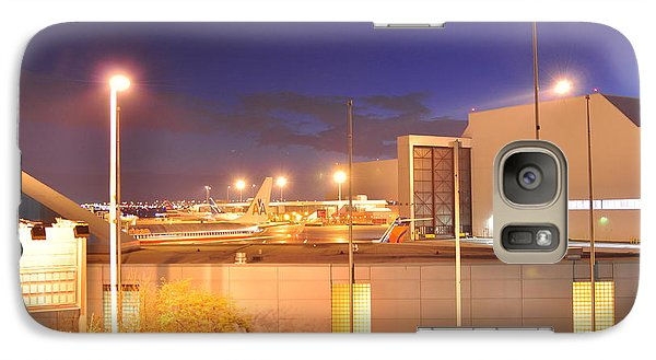 Galaxy Case featuring the photograph Holding At The Gate  by Puzzles Shum