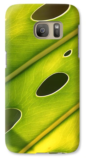 Galaxy Case featuring the photograph Holey Light by Amy Gallagher