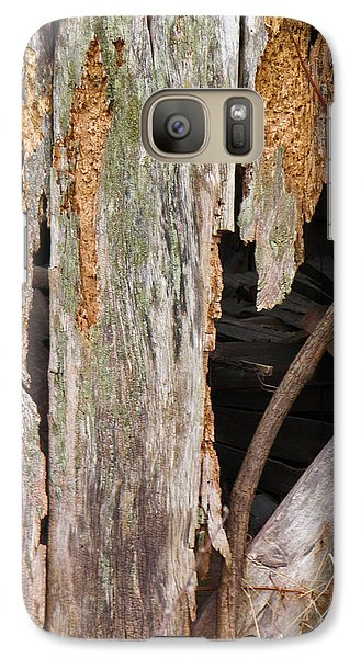 Galaxy Case featuring the photograph Holey Smokehouse by Nick Kirby