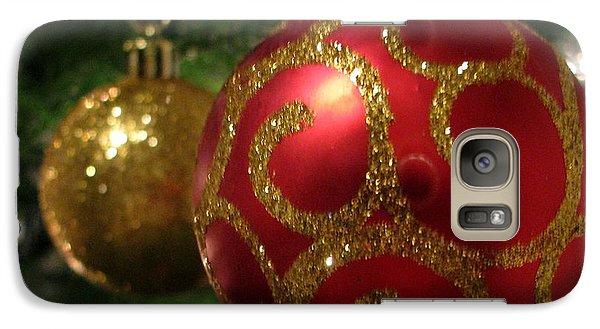 Galaxy Case featuring the photograph Holiday Balls by Judyann Matthews