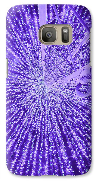 Galaxy Case featuring the photograph Holiday Christmas by Michael Nowotny