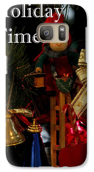 Galaxy Case featuring the photograph Holiday Time by Ivete Basso Photography