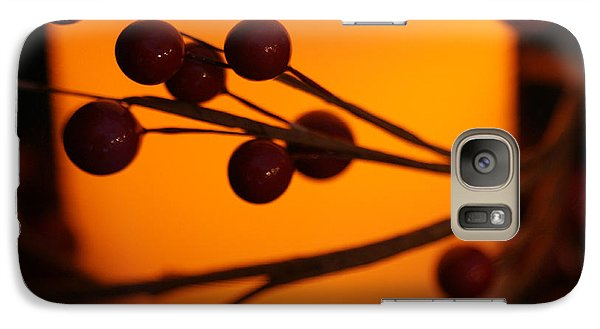 Galaxy Case featuring the photograph Holiday Warmth 2 by Linda Shafer