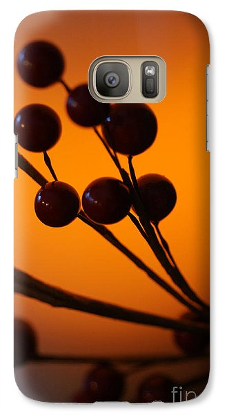 Galaxy Case featuring the photograph Holiday Warmth 3 by Linda Shafer