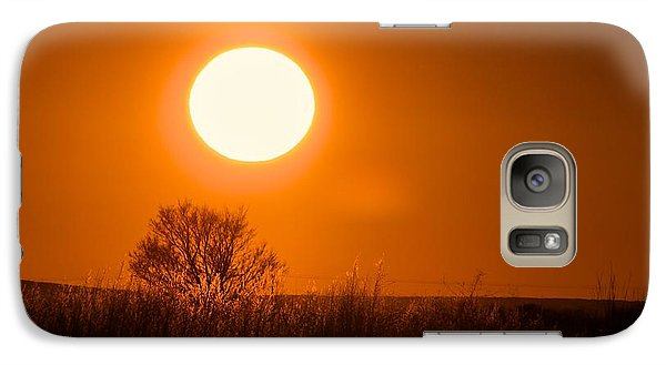 Galaxy Case featuring the photograph Hollister Idaho Spring Sunset by Michael Rogers