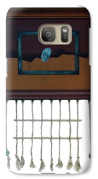 Galaxy Case featuring the painting Hollow by Fei A