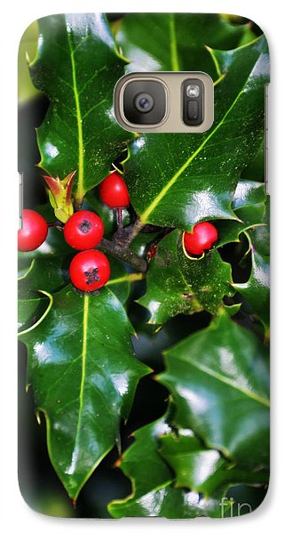 Galaxy Case featuring the photograph Holly by Mindy Bench