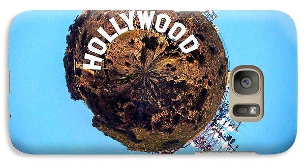 Hollywood Sign Circagraph Galaxy S7 Case by Az Jackson