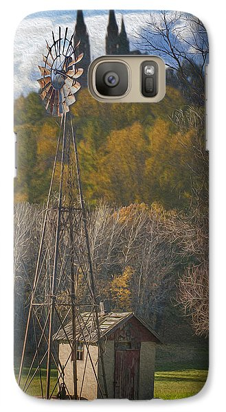 Marquette Galaxy S7 Case - Holy Hill  Wisconsin by Jack Zulli