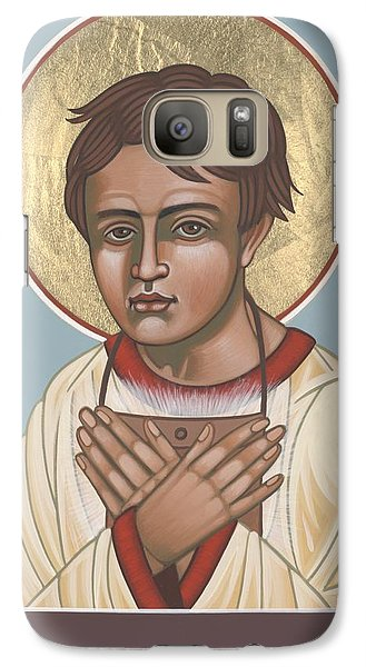 Holy Martyr St. Tarcisius Patron Of Altar Servers 271 Galaxy S7 Case