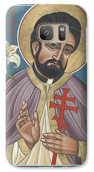 Galaxy Case featuring the painting Holy New Martyr Father John Karastamatis Of Santa Cruz 216 by William Hart McNichols