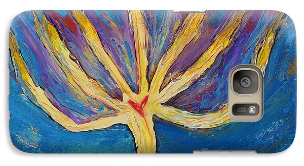 Galaxy Case featuring the painting Holy Spirit Which Dwells In You by Cassie Sears