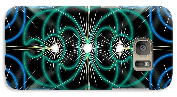 Galaxy Case featuring the digital art Holy Trinity by Brian Johnson
