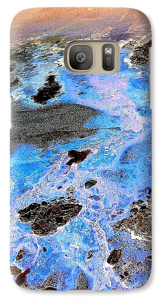 Galaxy Case featuring the photograph Holy Water by Christine Ricker Brandt