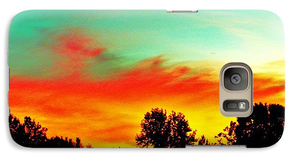 Galaxy Case featuring the photograph Home At Dusk 2 by Robin Coaker