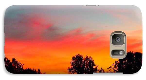 Galaxy Case featuring the photograph Home At Dusk by Robin Coaker