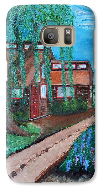 Galaxy Case featuring the painting Home by Cassie Sears