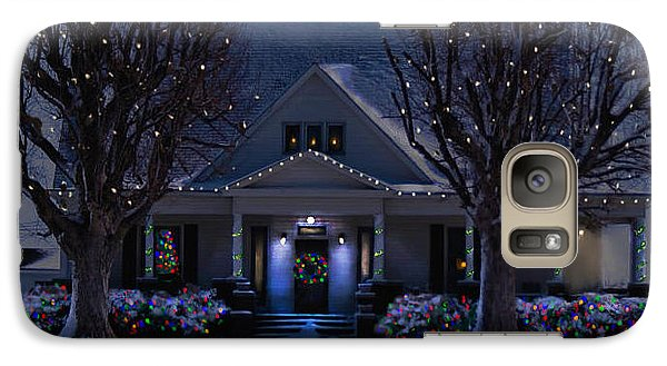 Galaxy Case featuring the photograph Home For Christmas by Bonnie Willis