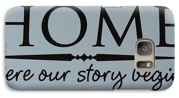 Galaxy Case featuring the photograph Home by Jeannie Rhode