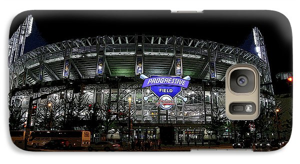 Galaxy Case featuring the photograph Home Of The Cleveland Indians by Terri Harper
