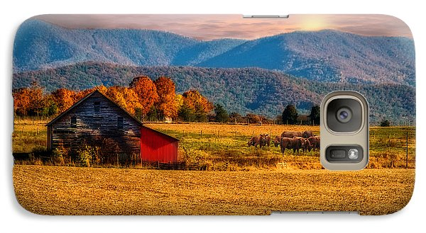 Galaxy Case featuring the photograph Home On The Range by Mary Timman