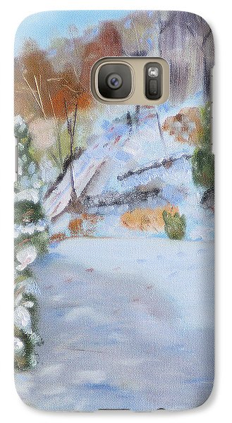 Galaxy Case featuring the painting Home Scene South by Michael Daniels