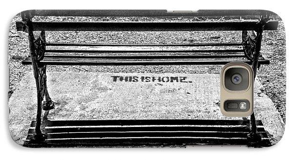 Galaxy Case featuring the photograph Home by Sennie Pierson