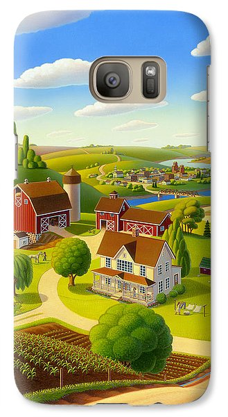 Galaxy Case featuring the painting Home To Harmony by Robin Moline