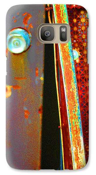 Galaxy Case featuring the photograph Homeless by Christiane Hellner-OBrien