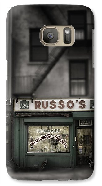 Galaxy Case featuring the photograph 'homemade' by Russell Styles