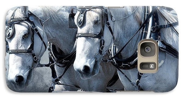 Galaxy Case featuring the digital art Homeward Bound by Mary Almond