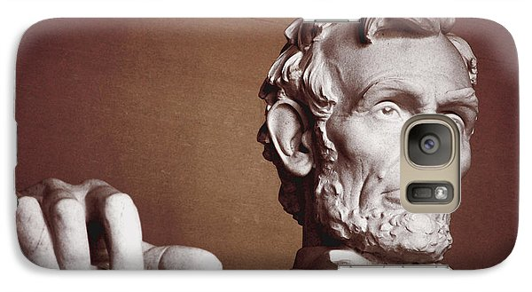 Galaxy Case featuring the photograph Honest Abe by Jame Hayes