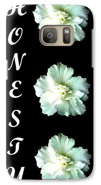 Galaxy Case featuring the digital art Honesty Inspirational Art Collection By Saribelle Rodriguez by Saribelle Rodriguez