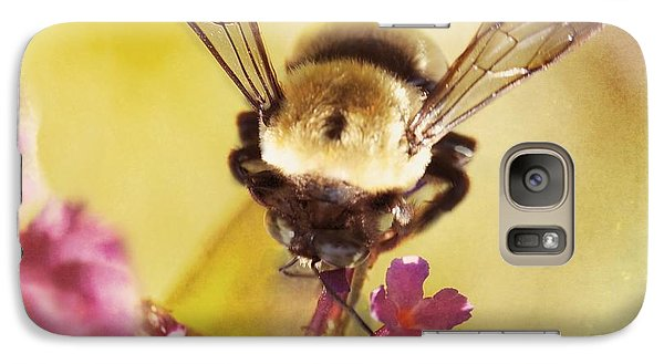 Galaxy Case featuring the photograph Honey Bee by Kim Fearheiley