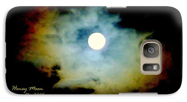 Galaxy Case featuring the photograph Honey Moon by Cindy Wright